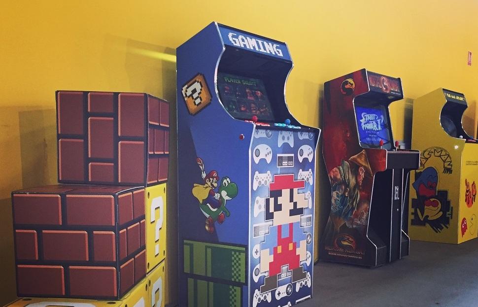 Une vraie salle de jeux !