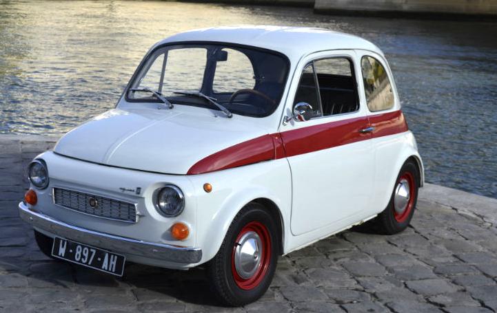 Une expo de Fiat 500