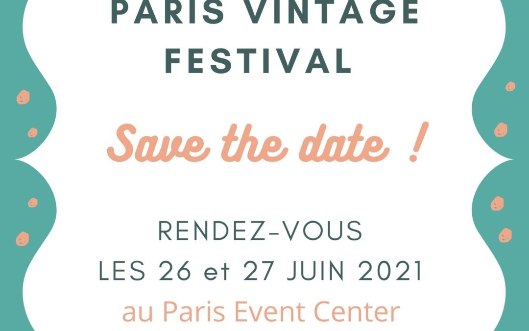 Édition 2021 ! SAVE THE DATE